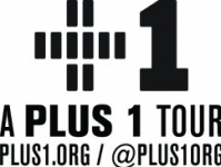 Plus1 tour logo black ptit