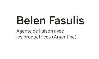 Belen Fasulis - Argentine